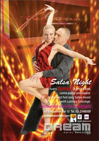 Dream Sunday Salsa Night at Dream Hotel