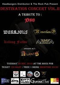 Destination Concert at The Rock Pub