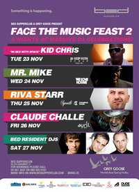 Face The Music Feast at Bed Supperclub