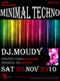 Minimal Techno Night at Xperience