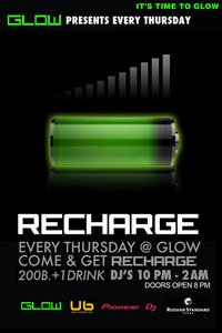 Recharge Thursday's at Glow