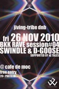 Bkk Rave Session  at Cafe De'moc