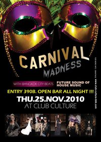 Carnival Madness at Club Culture