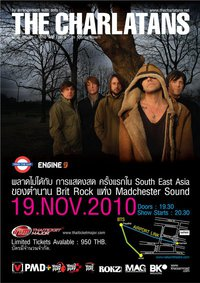 The Charlatans Show at Nakarin Theater