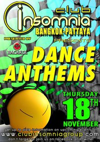 Dance Anthems at Insomnia Club