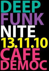 Deep Funk Night at Cafe Democ