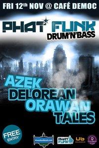 Phat Funk Drum & Bass Part at Cafe Democ
