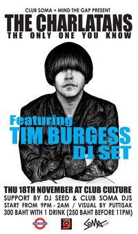 Tim Burgess DJ Set at Club Culture