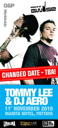 Tommy Lee & DJ Aero at Club 808