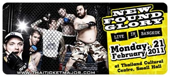 New Found Glory Live in Bangkok