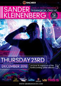 Sander Kleinenberg Live at Q Bar