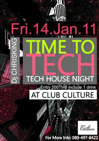 TIME TO TECH PARTY