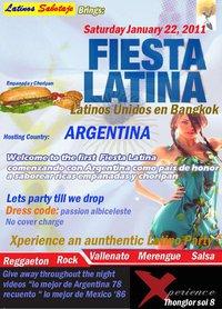 """Fiesta Latina """"Latinos Unidos en Bangkok"""""""