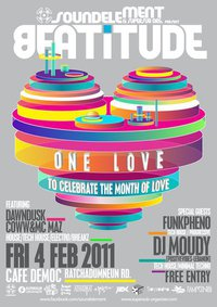 BEATiTUDE : ONE LOVE : To Celebrate The Month Of Love