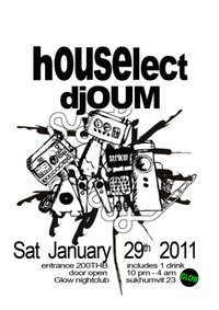 Houselect with DJ Oum at Glow