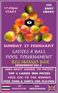 Big Mango Bar Tournament
