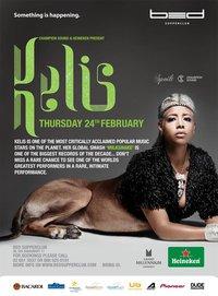 Kelis live in Bed