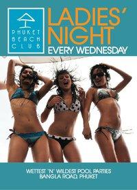 Ladies Night Phuket Beach Club