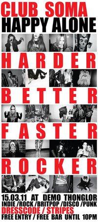 HARDER BETTER FASTER ROCKER