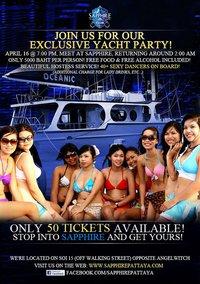 Pattaya Sapphire Yacht Party