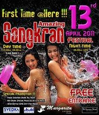 Songkran Margarita Phuket