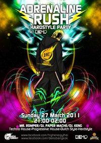 Sunday Adrenaline Rush Party