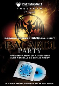 Bacardi Party Pattaya
