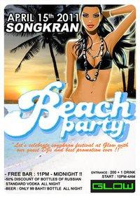 Bkk Songkran Beach Party