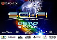 Bangkok Sci-Fi disco