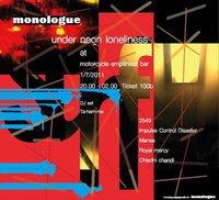 Bkk Monologue