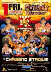 Samui Muay Thai Night